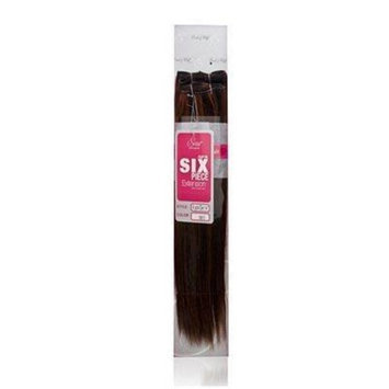Evita 100% Human Hair Six Piece Clip In Extension 14 Inch Color 1011
