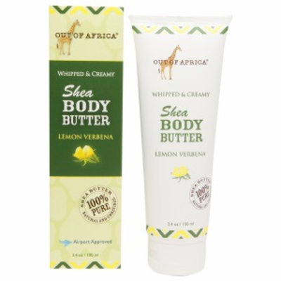 Out Of Africa Shea Body Butter, Lemon Verbena, 3.4 oz