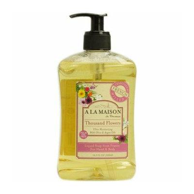 A La Maison French Liquid Soap Thousand Flowers 8.8 fl oz