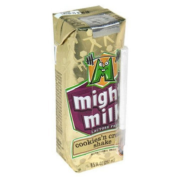 Cytosport Mighty Milk Nutritional Drink, Cookies' n Cream Shake, 8.5-Ounce Boxes (Pack of 24)