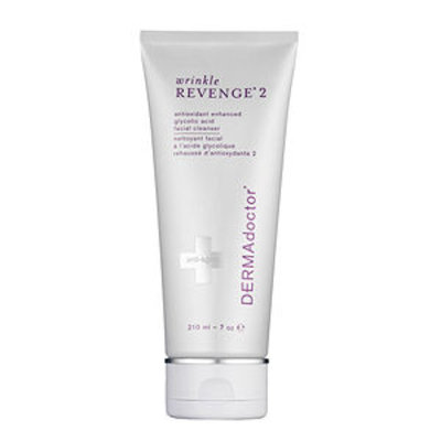 DERMAdoctor wrinkle REVENGE 2 antioxidant enhanced glycolic acid facial cleanser