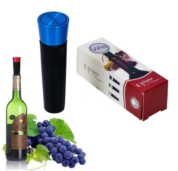 Vina Wine Bottle Stopper with Vacuum Pump Sealer, Pumping Fresh Wine Stopper for Wine Air-Tight Storage