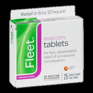 Fleet Stimulant Laxative Bisacodyl Tablets 5 mg - 25 CT