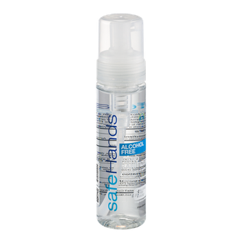 safeHands Alcohol Free Hand Sanitizer Fragrance Free
