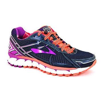 Brooks Women's Adrenaline Gts 15 Running Shoe [White/DazzlingBlue/SharpGreen, 9.5 B(M) US]