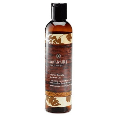Bodhichitta Botanicals Sacred Temple Shower Gel, 8 Ounce