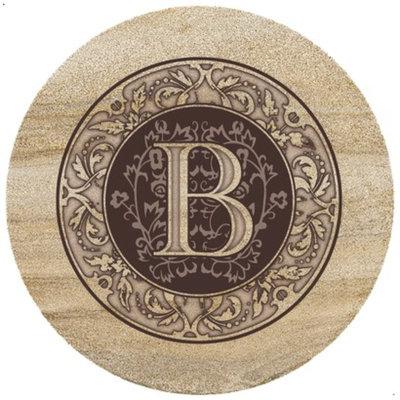 ThirtyStone Coasters Monogram B Trivet