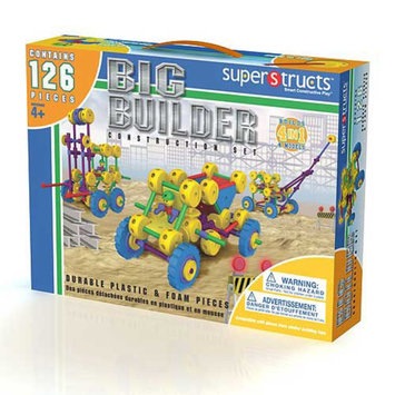 Superstructs Big Builder Set Ages 4-8, 1 ea