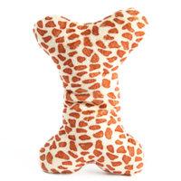ToyShoppeA Safari Bone Squeaker Dog Toy