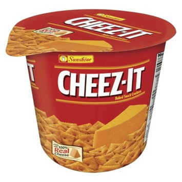 Cheez-It Cheddar Baked Snack Crackers Mini Cup 2.6 oz