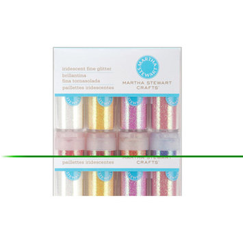EK Success Martha Stewart Crafts Iridescent Glitter Set