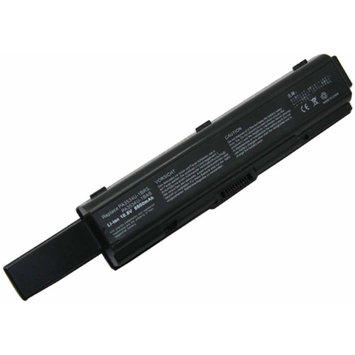eN-ChargeReplacement Toshiba Laptop Battery for Dynabook and Satellite Laptops, Black