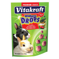 Vitakraft Drops with Wildberry for Rabbits