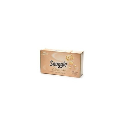 Snuggle Creme Fabric Sheets, Almond Essence, 105-count Box