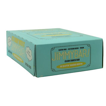 Jimmybar! 8460004 Clean Snack Bar No Bluffin Banana Muffin