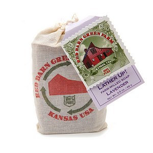 Red Barn Green Farm Lather Up! Lavender Farm-Milled Soap