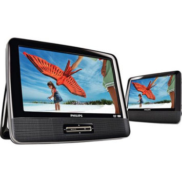Philips PD9012/37 9 Dual Widescreen Portable DVD Player