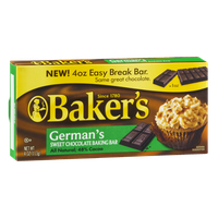 Baker's German's Sweet Chocolate Baking Bar
