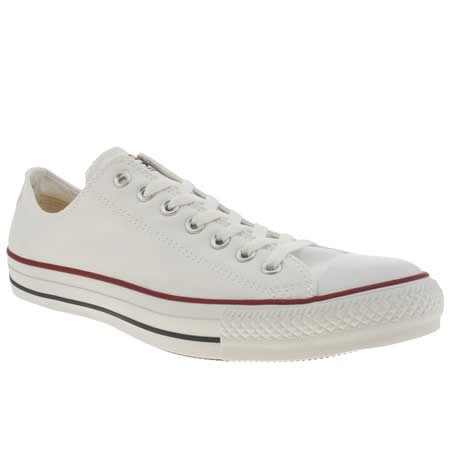 Converse Chuck Taylor All Star Canvas Low White 7