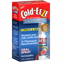 Cold-Eeze Cherry Flavor Cold Remedy Oral Spray