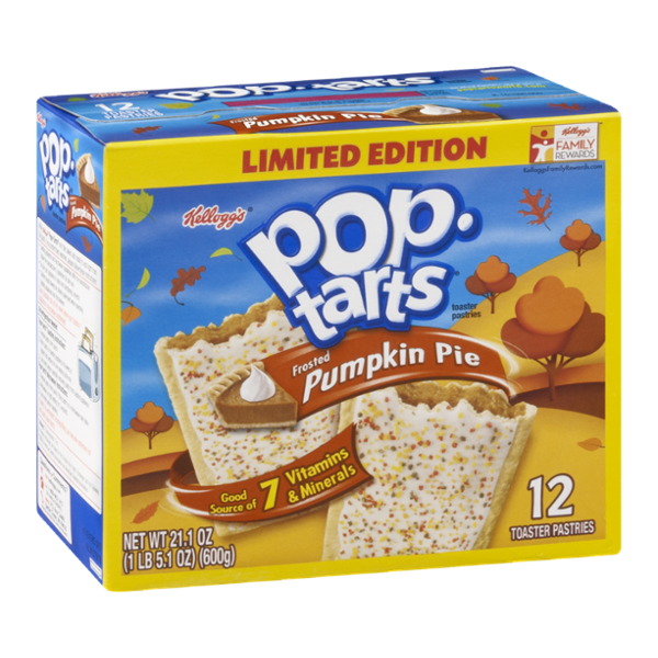 Kellogg's Pop-Tarts, Frosted Pumpkin Pie