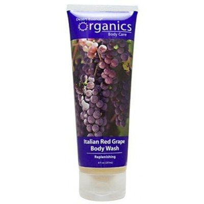Desert Essence Organics Body Wash Almond