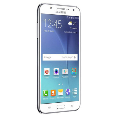 Samsung - Galaxy J5 4G with 16GB Memory Cell Phone (Unlocked) - White