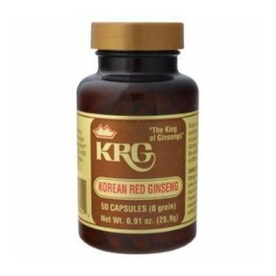 Prince of Peace Korean Red Ginseng 50 Capsules