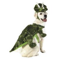 Boots & Barkley Boots and Barkley LED Plush Triceritops Pet Costume - Large
