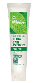Desert Essence Ultra Care Toothpaste - Mega Mint