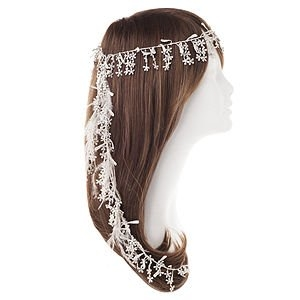 Jane Tran Hair Accessories Flora Lace Trim Headband
