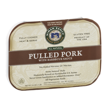 Niman Ranch Pulled Pork with Barbecue Sauce