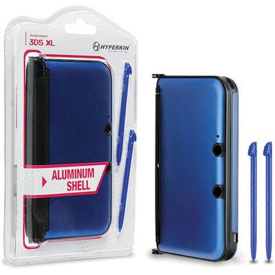 Hyperkin M06000-BU Nintendo 3DS XL Aluminum Shell with 2 Stylus Pens, Assorted Colors