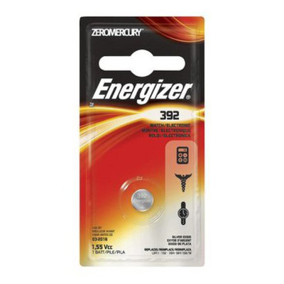 Energizer Watch/Electronic Silver Oxide Battery#392