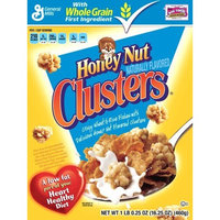General Mills Honey Nut Clusters, 16.25-Ounce Boxes (Pack of 3)