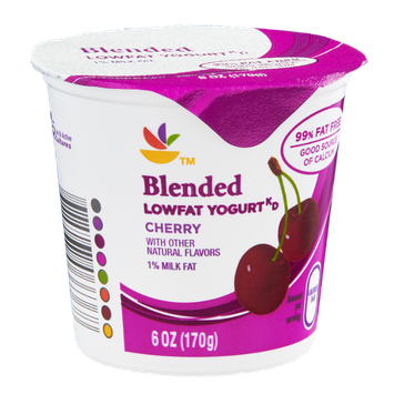 Ahold Blended Lowfat Yogurt Cherry