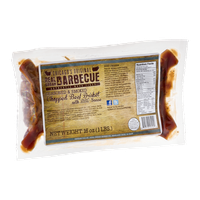 Real Urban Barbecue Chopped Beef Brisket With BBQ Sauce