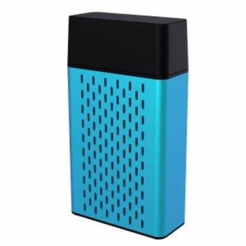 Hype Aluminum Bluetooth Stereo Speaker, Blue, 1 ea