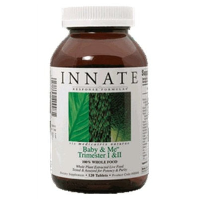 Innate Response Formulas Innate Response - Baby & Me Trimester I & II 120 Count - Complete nutritional support for women in trimesters I and II of pregnancy