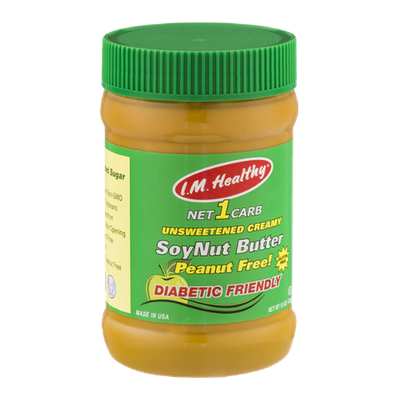 I.M. Healthy Unsweetened Creamy SoyNut Butter