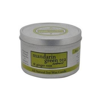 Aroma Paws Travel Tin Candle, 8-Ounce, Mandarin Green Tea