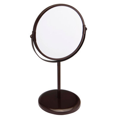 Allure Home Jaclyn Smith Standing Round Bathroom Vanity Mirror - Willow