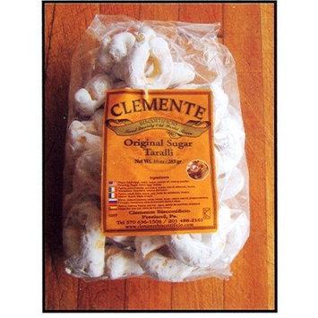 Clemente Italian Bakery Clemente Original Sugar Taralli, Italian Biscuits 10 Oz Bag