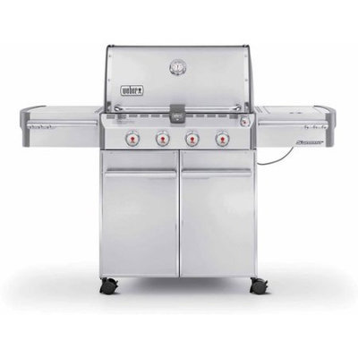 Weber Summit S-420 LP Gas Grill, Stainless Steel
