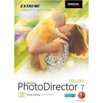 CyberLink PTD-0700-IWX0-00 PhotoDirector 7 Deluxe (Email Delivery)