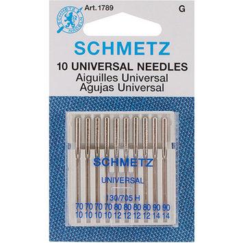 Euro-Notions Universal Machine Needles-Sizes 10/70 (4), 12/80 (4) & 14/90 (2)