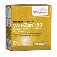 Walgreens Wal-Zan 150 Acid Reducer Tablets