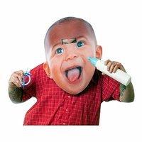 Morbid Costumes Big Head Baby Adult Mask