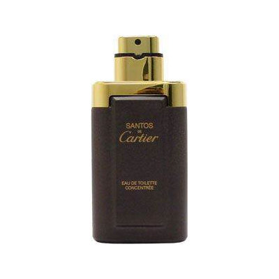 Cartier Santos de Cartier Men's 3.3-ounce Eau de Toilette Spray Concentrate (Tester)