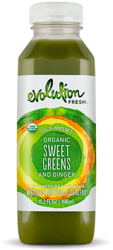 Evolution Fresh™ Organic Sweet Greens and Ginger Juice